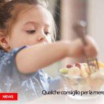 merenda sana per bambini