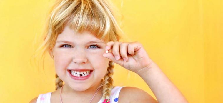 Caduta dei denti da latte: la fatina dei denti