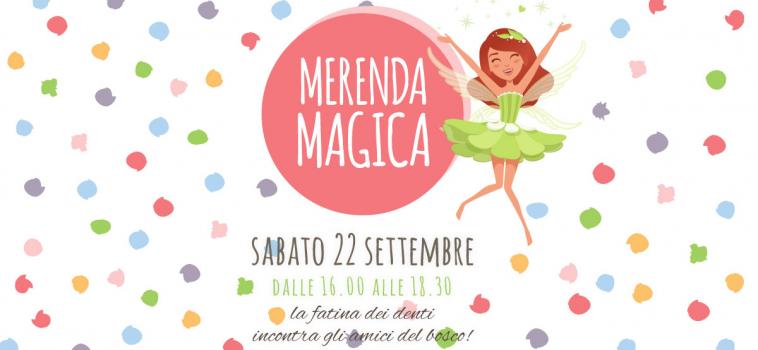 Merenda Magica – Sabato 22 Settembre 2018