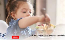 Qualche consiglio per la merenda sana per bambini